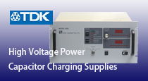 high voltage power capacitor charging supplies